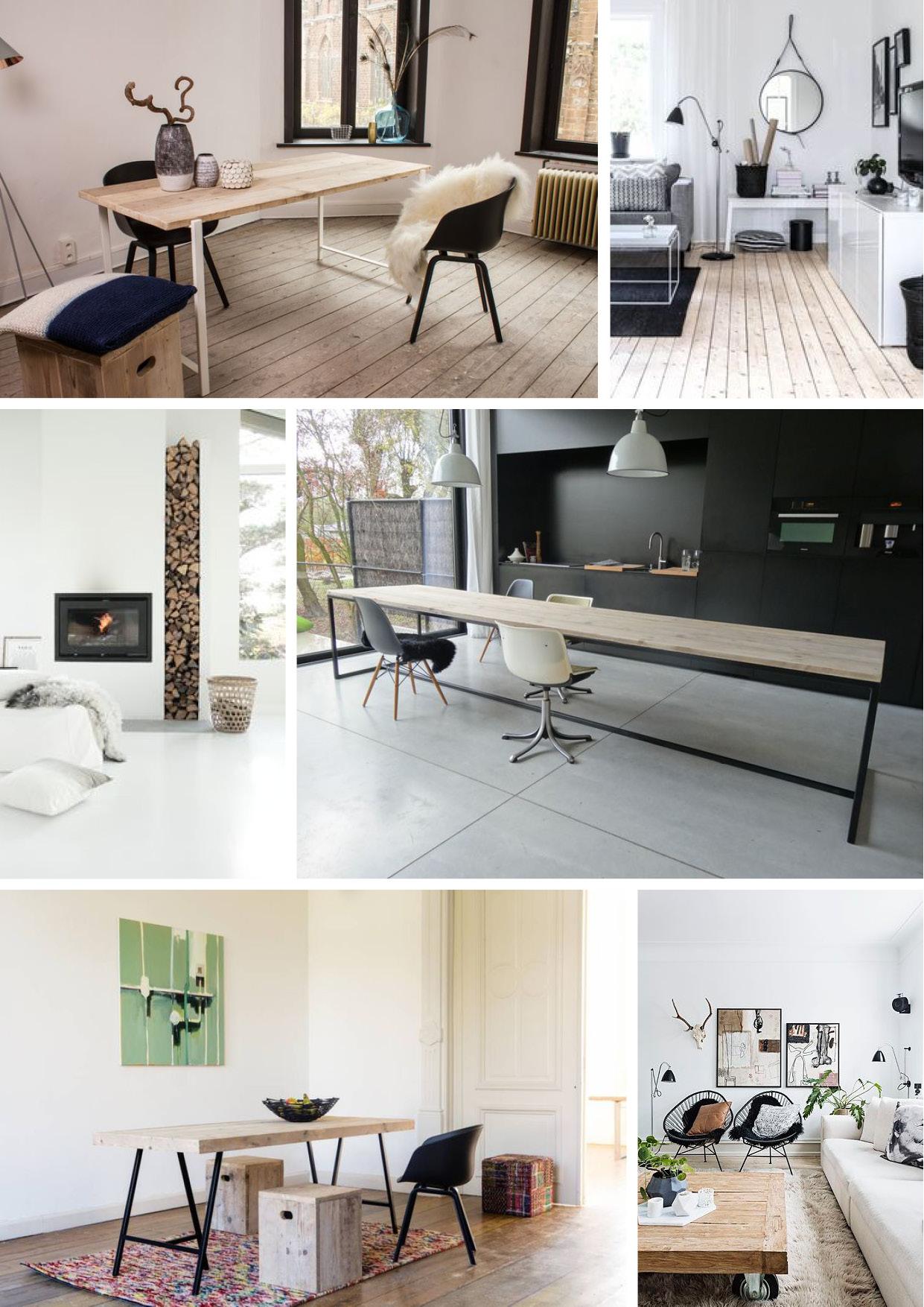 scandinavisch wonen met pure wood design pure wood design. Black Bedroom Furniture Sets. Home Design Ideas