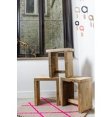 PURE wood design Une manivelle à bois de navire avec une couche intermédiaire