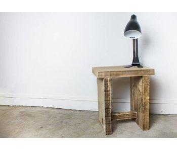 PURE wood design 'Sola' Kruk Scheepshout met overstekend blad