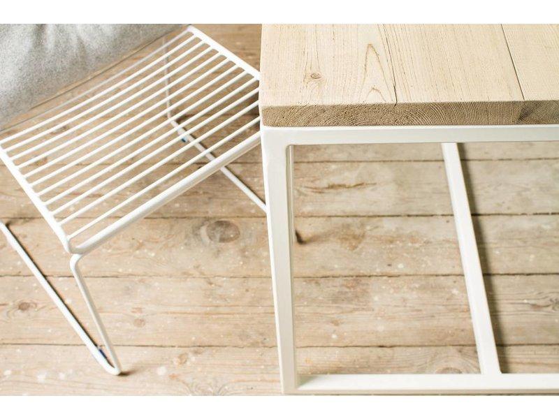 """Esbjerg"" table scandinave en bois de rive"