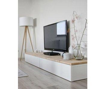 PURE wood design Bois planche d'échafaudage dans votre propre placard