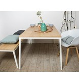 PURE wood design 'Norberg' table en chêne au style scandinave