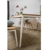 'Norberg' table en chêne au style scandinave