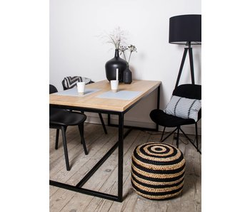 """Alesund"" table en chêne"