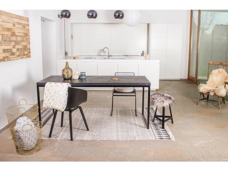 """PURE wood design """"Nordland"""" Table en chipwood au style industriel"""