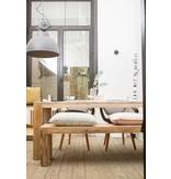 "PURE wood design ""Hamar"" Table massive en pin recyclé"