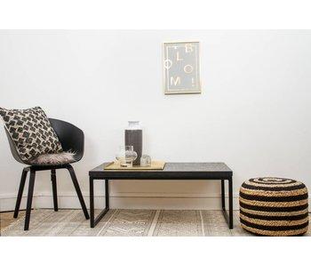 "PURE wood design ""Lunstad"" Table basse en chipwood"