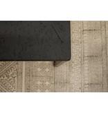 'Lunstad' industriële salontafel chipwood/stalen frame