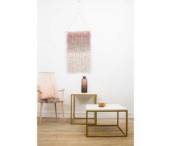 Industrielle table basse bois (acier fermé) - Copy