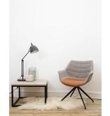 "PURE wood design ""Varborg"" Table basse scandinave en chêne et métal"