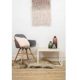 PURE wood design 'Falun' Salontafel ingelegd eikenhout met stalen frame