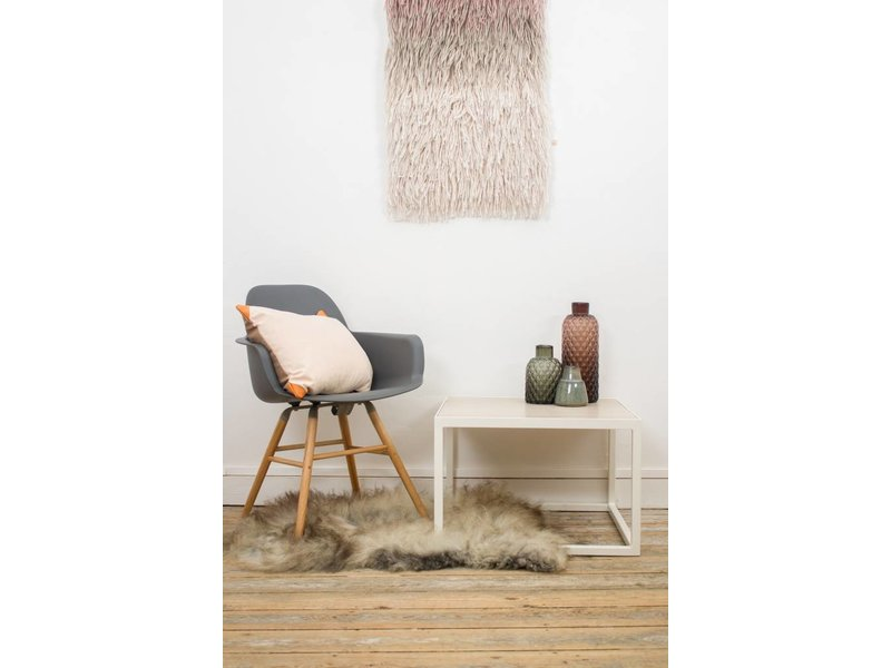 """Falun"" Table basse en chêne et métal"