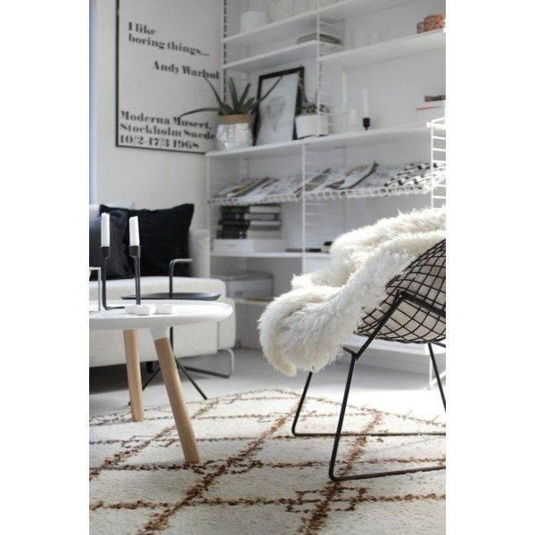 String Pocket White/White - PURE Wood Design