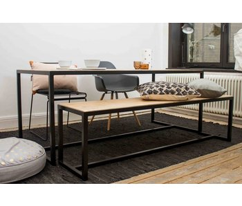 "PURE wood design ""Hedensted"" table en pin recyclé"