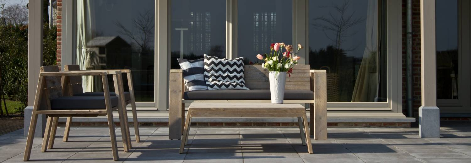 Summervibes met de outdoorcollectie van PURE Wood Design!