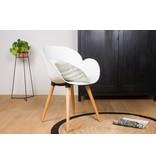 PURE Blend CHAISE BLEND S03 - chaise avec accoudoirs - base bois droit
