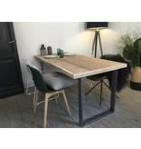 'Oppland' industriele tafel steigerhout/u-poot