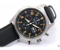 Parnis 41mm Top Gun zwart - oranje