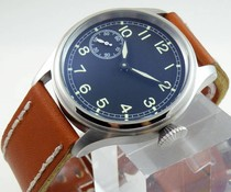 Parnis 47mm Deluxe luminous met lichtbruine band