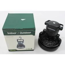 Indoor / outdoor bivvy ventilator lamp