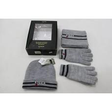 Eiger gift set met handschoenen, sjaal en muts maat L-XL