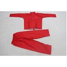 Ron Thompson pro flexi soft rain suit 2 delig rood | regenpak