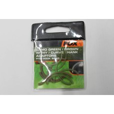 Fox camo green/brown/withy/curve shank adaptor fits