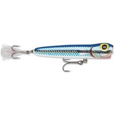 Storm saltwater chug bug 11cm/26gr | mullet blue metal | popper