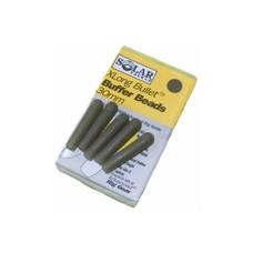 Solar x long bullet buffer beads 30mm | 3 st