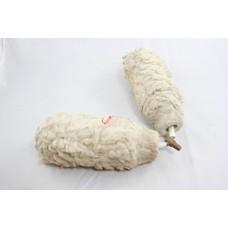 Pole roller soft white