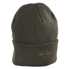 Swedteam knitted cap groen | muts