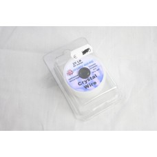 La carpe anglaise crystal wire abrasion resistant 25 LB | 20M