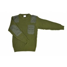 Commando sweater green acryl | pullover | large