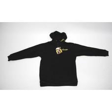 Gamakatsu zipped hoody black