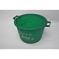 Sensas bait bucket green 25L