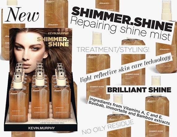 Nieuw van Kevin Murphy: SHIMMER.SHINE