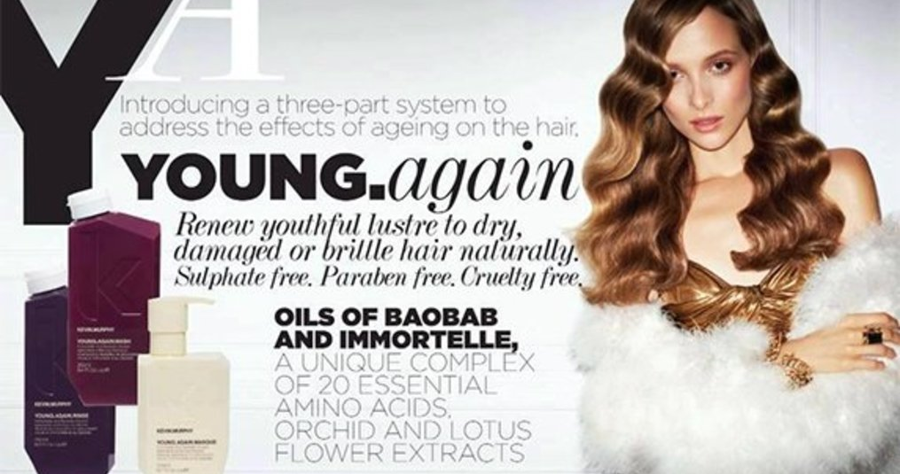 Kevin Murphy's YOUNG.AGAIN LINE