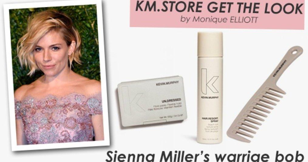 Inspiratie: Sienna Miller's warrige bob