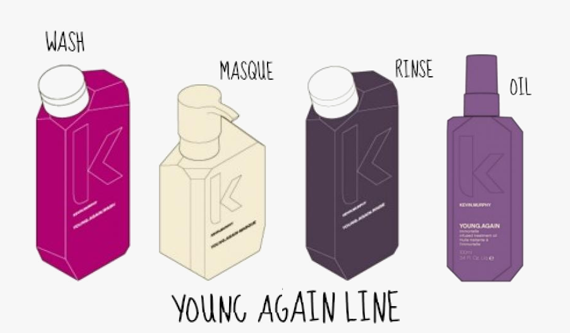 Kevin Murphy Young Again Line