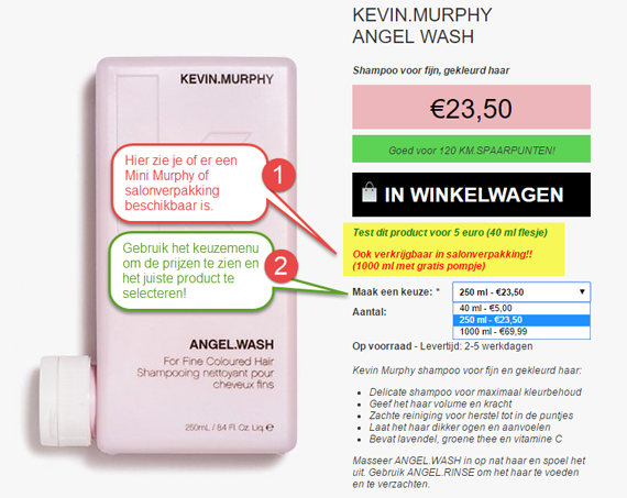 Kevin Murphy Mini's