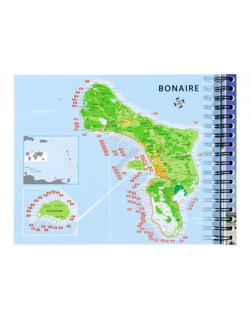 Duikgids Bonaire Engels, English, dive guide, Caribbean