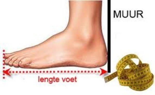 voet meten