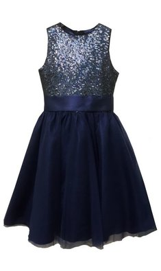 Meisjesfeest Limited Edition dress navy