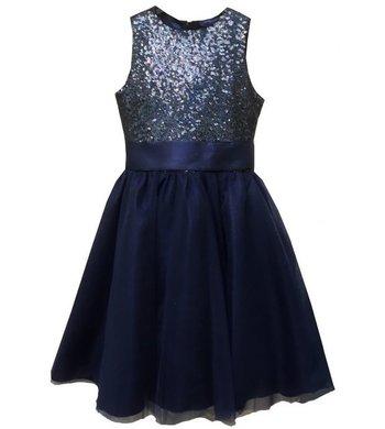Meisjesfeest Limited Edition dress navy
