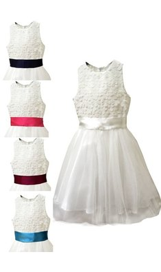 Meisjesfeest Limited Edition dress offwhite