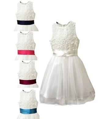 Meisjesfeest Limited Edition dress offwhite