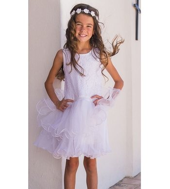 LoFff Communion dress White