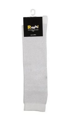 Rumbl Royal KNIEKOUSEN WHITE/SILVER