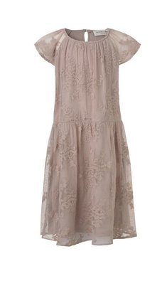 Rosemunde sheer lace dress vintage powder pink