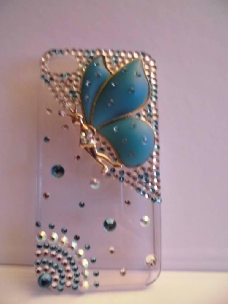 Mooie Iphone 4(s) vlinder case